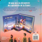 Saisissants pop-up ; la France en pop-up - 4ème de couverture - Format classique