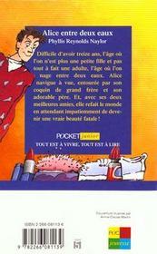 Alice Entre Deux Eaux - 4ème de couverture - Format classique