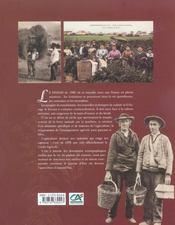 Il y a un siecle la france paysanne - 4ème de couverture - Format classique