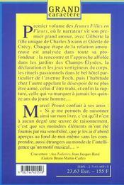 A L'Ombre Des Jeunes Filles En Fleur T.1 - 4ème de couverture - Format classique