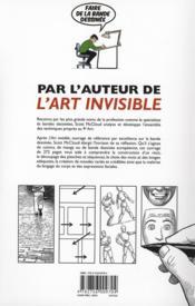 Faire de la bande dessinée - 4ème de couverture - Format classique