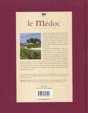 Le Medoc - 4ème de couverture - Format classique