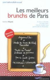 Les Meilleurs Brunchs De Paris - Couverture - Format classique