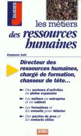 Les metiers des ressources humaines - Couverture - Format classique