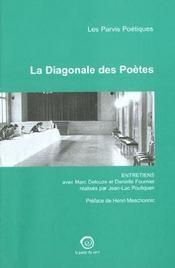 La diagonale des poetes ; les parvis poetiques - Intérieur - Format classique