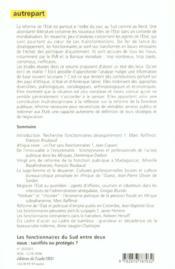 Fonctionnaires Du Sud Entre Deux Eaux - 4ème de couverture - Format classique
