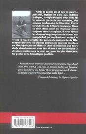 Dernier baroud pour l'honneur - 4ème de couverture - Format classique