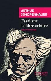 Essai sur le libre arbitre - 1ere ed - Couverture - Format classique