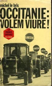 Occitanie : Volem Viure ! - Couverture - Format classique