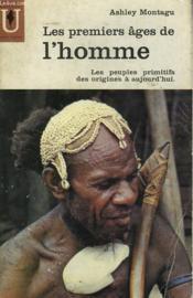 Les Premiers Ages De L'Homme - Couverture - Format classique