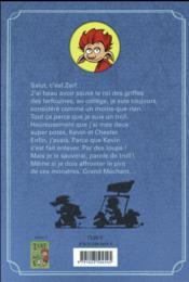 Zarf le troll ; le troll qui criait au loup - 4ème de couverture - Format classique
