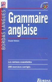 Grammaire anglaise (édition 2002) - Intérieur - Format classique