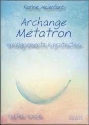Archange métatron ; enseignements & protection - Couverture - Format classique