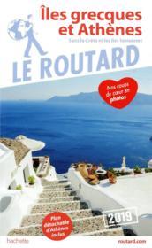 Guide du Routard ; îles grecques et Athènes ; sans la crète et les îles ioniennes - Couverture - Format classique