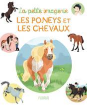 Les poneys et les chevaux - Couverture - Format classique