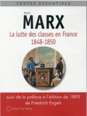 Les luttes des classes en France - Couverture - Format classique