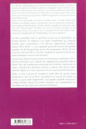 L'Algebre Discrete De La Transformee De Fourier Niveau M1 Cours Et Exercices Corriges - 4ème de couverture - Format classique
