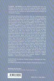 Rome De La Republique A L'Empire Iiie S.Av.J.-C.-Iiie S.Ap.J.-C.2e Edition Mise A Jour - 4ème de couverture - Format classique