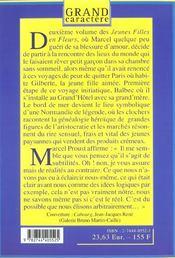 A L'Ombre Des Jeunes Filles En Fleurs T.2 - 4ème de couverture - Format classique