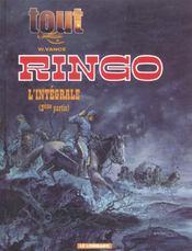 Tout vance t.9 ; intégrale Ringo t.2 - Intérieur - Format classique