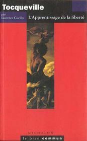 Tocqueville -apprentissage lib - Intérieur - Format classique