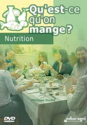 Qu'est qu'on mange ? nutrition (dvd) - Couverture - Format classique
