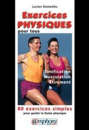 Exercices Physiques Pr Ts - Couverture - Format classique