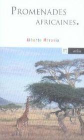 Promenades africaines - Couverture - Format classique