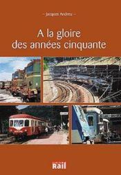Gloire Des Annees 50 - Couverture - Format classique