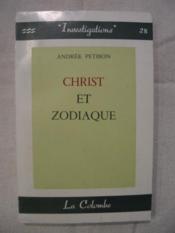 Christ et zodiaque - Couverture - Format classique
