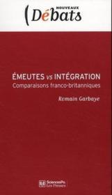 Émeutes vs intégration - Couverture - Format classique