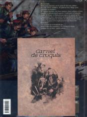 14-18 T.3 ; le champ d'honneur (janvier 1915) - 4ème de couverture - Format classique