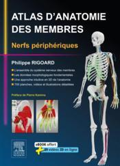 Atlas d'anatomie des membres ; nerfs périphériques - Couverture - Format classique