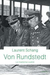 Von Rundstedt - Couverture - Format classique
