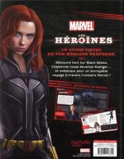 Marvel ; les héroïnes ; Black Widow ; le guide visuel ultime - 4ème de couverture - Format classique