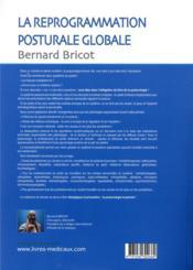 La reprogrammation posturale globale (2e édition) - 4ème de couverture - Format classique