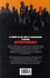 Walking dead T.2 ; cette vie derrière nous... - 4ème de couverture - Format classique