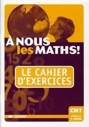 A Nous Les Maths - Intérieur - Format classique