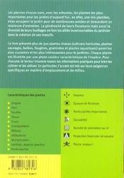 Vivaces - Atlas De Poche - 4ème de couverture - Format classique