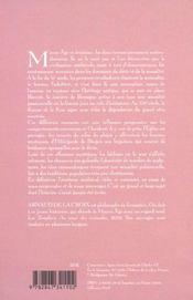 L erotisme au moyen age le corps le desir et l amour - 4ème de couverture - Format classique