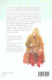 Les Peuples Du Caucase Du Nord - 4ème de couverture - Format classique