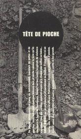 Tete de pioche - 4ème de couverture - Format classique