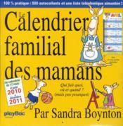 Le calendrier familial de maman 2011 - Couverture - Format classique