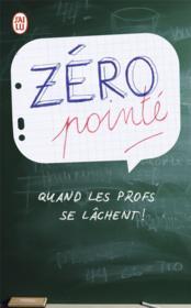 Zero pointé - Couverture - Format classique