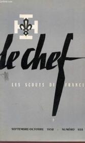 Le Chef - Les Scouts De France - N°288 - Septembre / Octobre 1952. - Couverture - Format classique