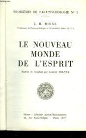 Le Nouveau Monde De L'Esprit - Couverture - Format classique