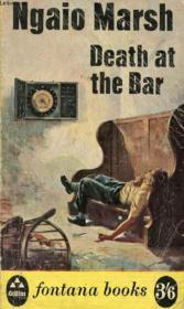 Death At The Bar - Couverture - Format classique