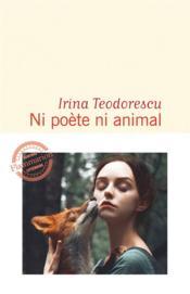 Ni poète ni animal - Couverture - Format classique