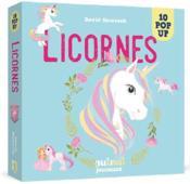 Saisissants pop-up ; licornes - Couverture - Format classique