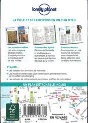 Marseille et les calanques (7e édition) - 4ème de couverture - Format classique